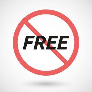 no free quote