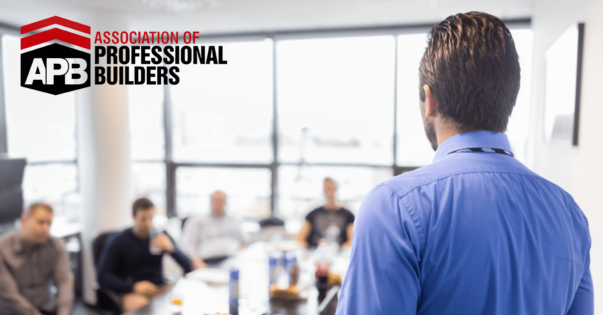 Association Of Professional Builders Boardroom: Declassified